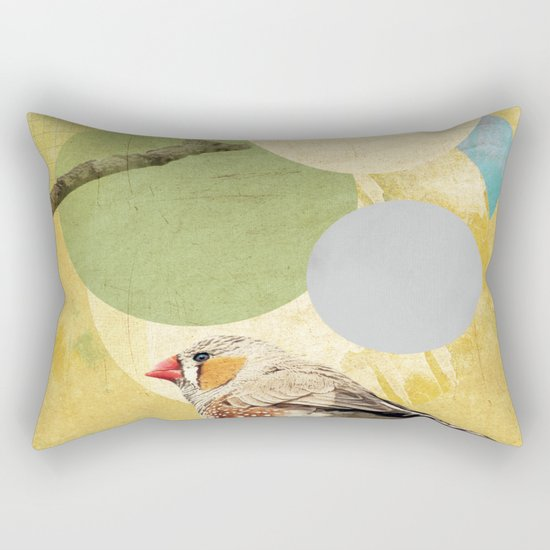Bird Song Rectangular Pillow