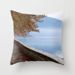 Autumn Sea Throw Pillow