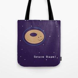 Space Bagel Tote Bag