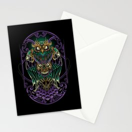 Grand Horned Owl Stationery Cards