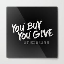 YBYG logo BK Metal Print