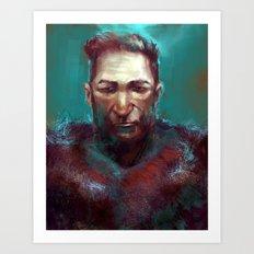 Man of the North Art Print