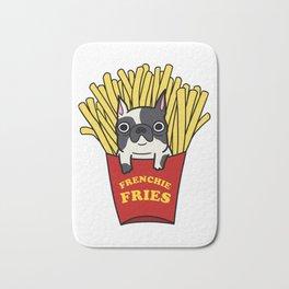 Frenchie Fries Bath Mat