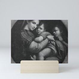 Raphael - Virgin and Child with Young Saint John the Baptist Mini Art Print