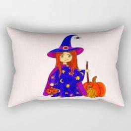 Little witch Rectangular Pillow