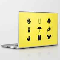 how i met your mother Laptop & iPad Skins featuring How I Met Your Mother by George Hatzis