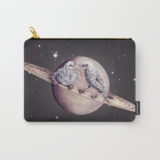 Space Sparrows Carry-All Pouch