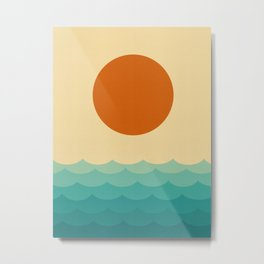 Minimalist Landscape XI Metal Print