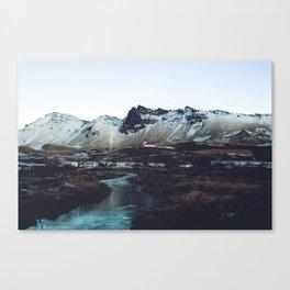 Iceland // Vik Canvas Print