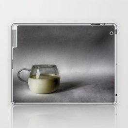 Still life with a cup of milk Laptop & iPad Skin