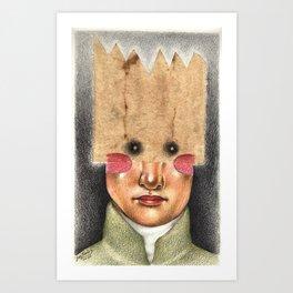 The Future King Art Print