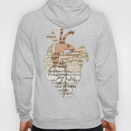 Sound Of My Heart (on white) Hoody