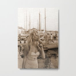 B.B. St. Tropez Metal Print