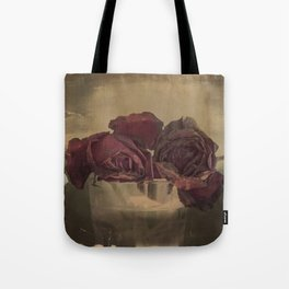The veins of Roses Tote Bag