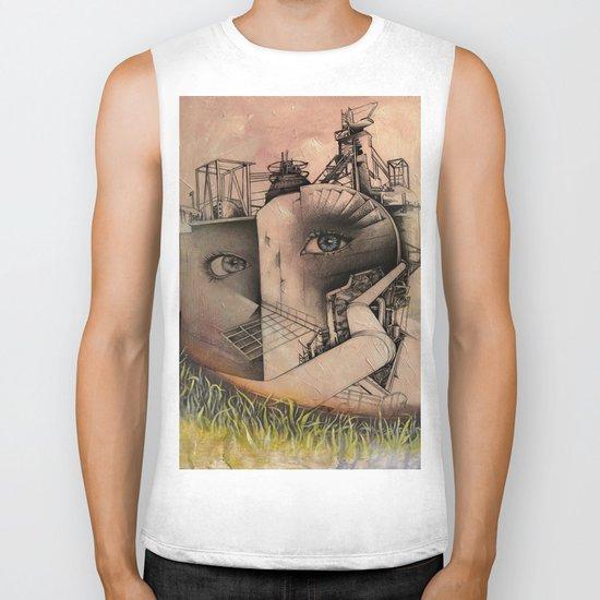 industry Biker Tank