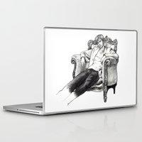 david tennant Laptop & iPad Skins featuring David Tennant by Chloé Arros