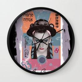 boy george Wall Clock