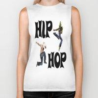 hip hop Biker Tanks featuring Hip Hop by ezmaya