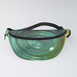 Metallic Green Swirl Fanny Pack