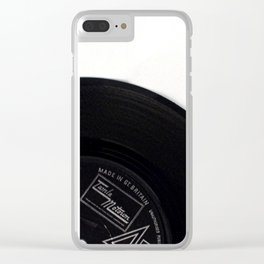 Motown Vinyl : Music Memories Clear iPhone Case