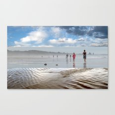 Break in the Weather - Triptych Canvas Print