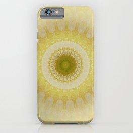 Mandala way to the light iPhone Case