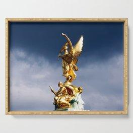 Golden Angel Serving Tray