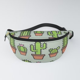 Cactus Collection - Sage Fanny Pack