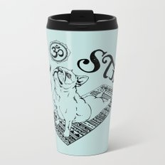 Be Still Frenchie Metal Travel Mug