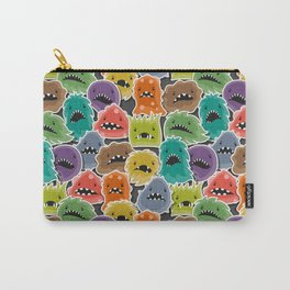 Monster Virus Pattern Carry-All Pouch