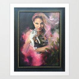 Witch Magic  Art Print