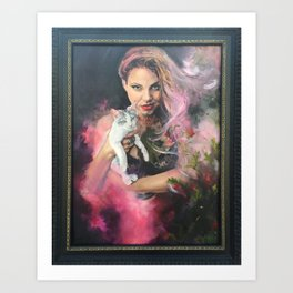 Witch Magic  Art Print