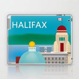 Halifax, Nova Scotia, Canada - Skyline Illustration by Loose Petals Laptop & iPad Skin