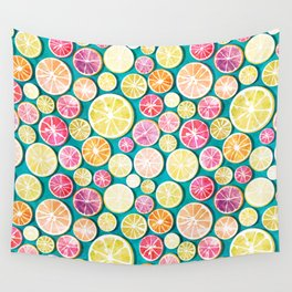 Citrus bath Wall Tapestry