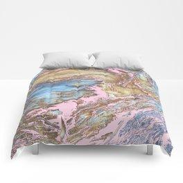 Woody Pink Comforters