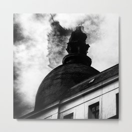 the cold wind Metal Print