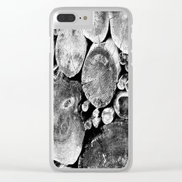 rounds Clear iPhone Case