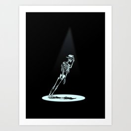 Anti -Gravity  Art Print