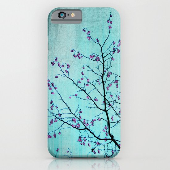 pink berries iPhone & iPod Case