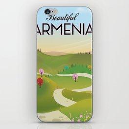 Armenia Travel poster. iPhone Skin