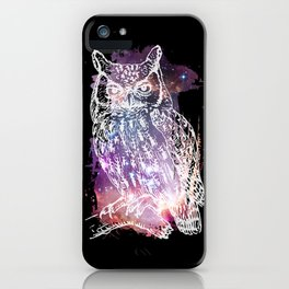 Cosmic Owl iPhone Case