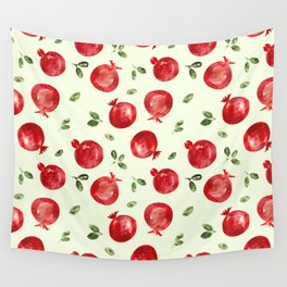 Pomegranate vibes Wall Tapestry