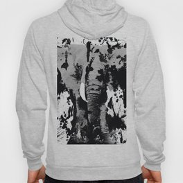 URBAN ELEPHANT INK SPLASH Hoody