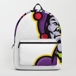 Jester Head Mascot Backpack
