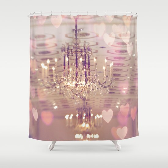 Mayflower Chandelier Shower Curtain by Kelly*n Photography | Society6