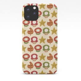 mario items pattern iPhone Case