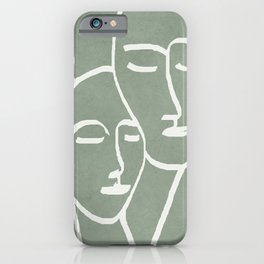 Abstract Masks iPhone Case