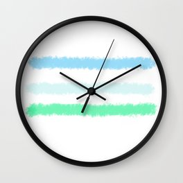 Landscape in Abstract Wall Clock