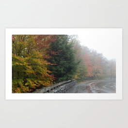Fall in New England Art Print
