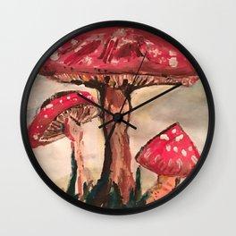 Fungicide Wall Clock
